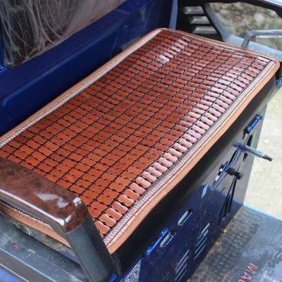 电动车凉席坐垫夏季三轮车竹垫套电瓶车座垫通用麻将席汽车前坐垫