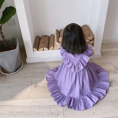 女童连衣裙儿童公主裙女宝宝夏装洋气童装2020新款夏款长裙超仙夏