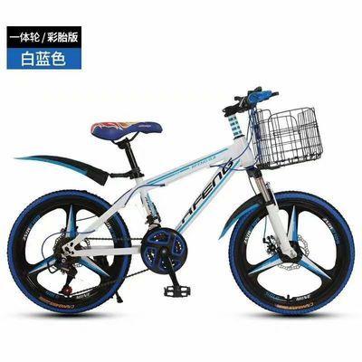 儿童自行车山地车小孩变速自行车20寸双碟刹六一礼物高档减震童车