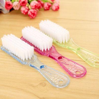 大号水晶 清洁洗鞋刷子多功能透明刷居家刷子塑料硬毛鞋刷洗衣刷