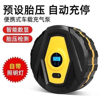 车载充气泵12v多功能车用便携式汽车打气泵小轿车电动轮胎打气磅