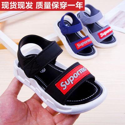童凉鞋男童小学生2020夏季新品软底防滑小童孩帅气中大童沙滩童鞋