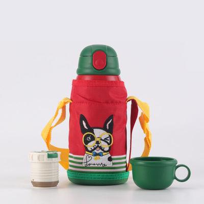 儿童保温杯带吸管两用304/316防摔不锈钢儿童壶幼儿园小学生水杯