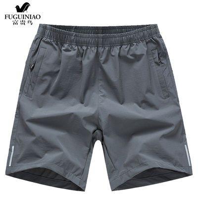 【富贵鸟】夏季情侣休闲短裤男运动五分裤男女速干透气沙滩直筒裤