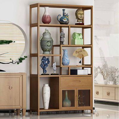 书架置物架楠竹简易多层实木储物架学生落地桌上儿童书柜现代简约