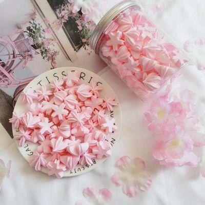 手工马林糖樱花蛋白糖甜霜咖啡伴侣糖网红送女友六一儿童节礼物