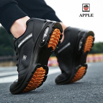 苹果运动鞋气垫厚底减震防臭轻便慢跑鞋名牌旅游鞋中学生街拍男士