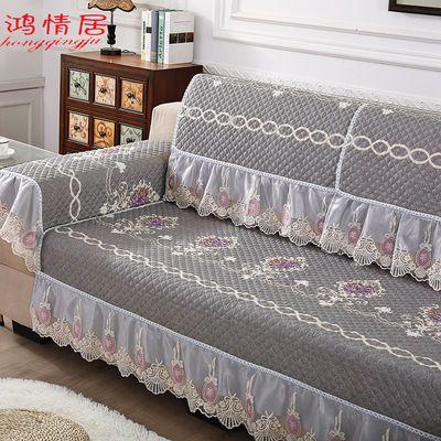 沙发垫四季通用布艺防滑沙发套全包万能套罩简约现代123组合套装