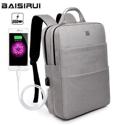 新款双肩包男女士背包电脑包休闲时尚旅行背包学生包商务出差韩版