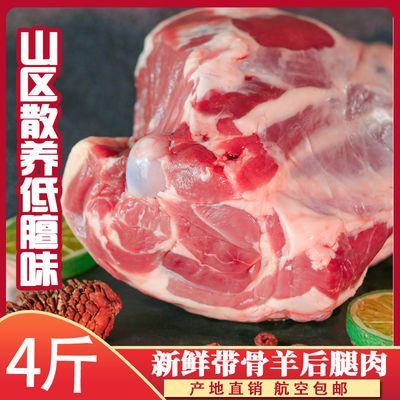 羊肉新鲜包邮4斤腿羊后腿肉羊腿新鲜羊肉羊腿鲜羊肉生羊肉羊腿
