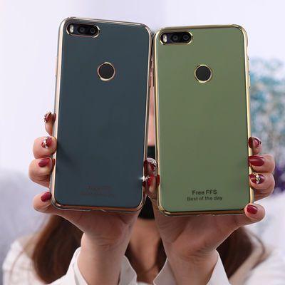 小米5x手机壳网红硅胶防摔新款小米8男女软壳全包可爱超薄电镀潮