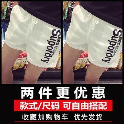 社会人修身网红裤子三分裤男韩版潮流二分超短裤休闲家居睡觉短裤