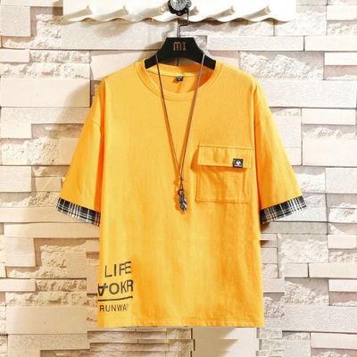 新款【爆款月销3000+】套装男韩版潮流学生短袖t恤运动休闲两件套