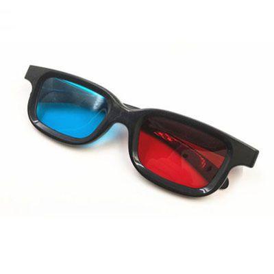 高清红蓝3d眼镜普通电脑专用3D眼镜 暴风影音3d立体电影电视通用