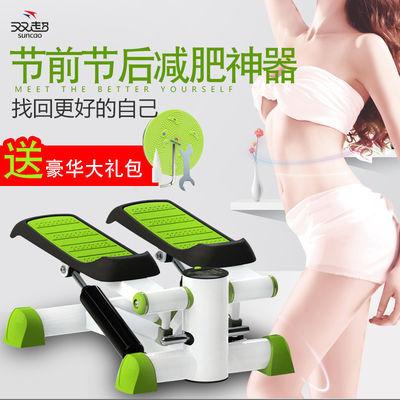 热卖踏步机家用多功能免安装减肥健身器材脚踏机减肥机静音多功能