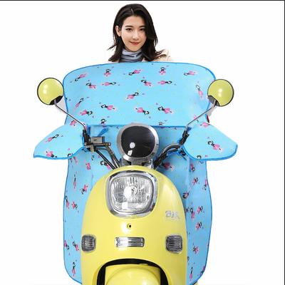 电动车摩托加大加口袋电瓶车防走光防晒防水轻薄防晒罩挡风被夏季
