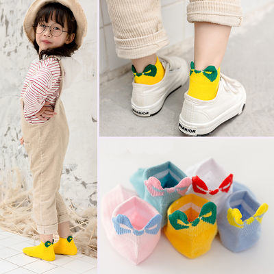 5双儿童袜子女袜子男夏季薄款婴儿袜子女童袜子男童袜子宝宝袜子