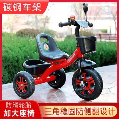 儿童三轮车脚踏车手推车1-5岁男女孩婴幼儿3宝宝自行车可推可骑行