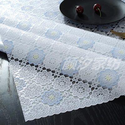 欧式pvc免洗防水防烫防油塑料餐桌布茶几客厅书桌家用长方形台布