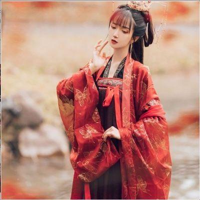 南雅集美人妆 原创汉服春夏装中国风齐胸襦裙唐制套装6米摆