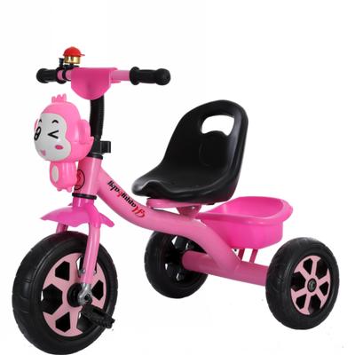 儿童三轮车脚踏车2-3-4-5岁大小号�《纺信�孩宝宝音乐脚蹬玩具车