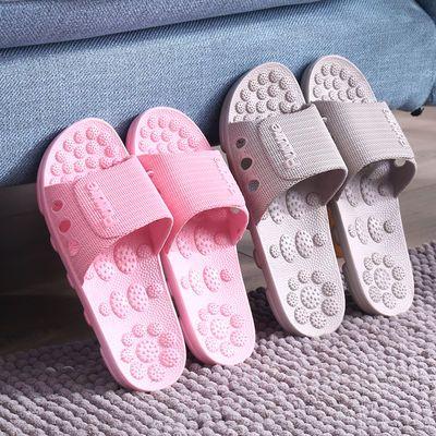 家居室内按摩拖鞋情侣家用防滑软底浴室洗澡男士女夏��拖鞋外穿鞋