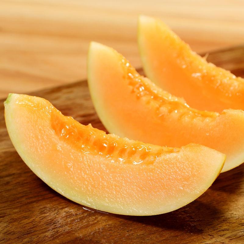苹果星球 新鲜陕西黄河蜜瓜 净重5斤