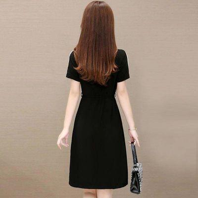 高贵夫人阔太太连衣裙2020新款夏季妈妈洋气收腰显瘦气质流行裙子