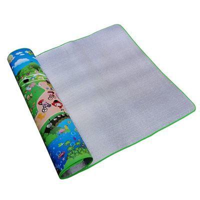 宝宝爬行垫加厚双面爬爬垫家用婴儿环保泡沫地垫折叠防水超大爬毯