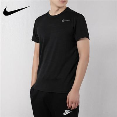 Nike耐克短袖男装2020夏季新款圆领健身休闲运动服T恤AJ8022-010