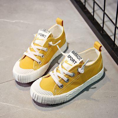 回力童鞋男童帆布鞋2019春季小白鞋女童幼儿园室内鞋儿童运动板鞋