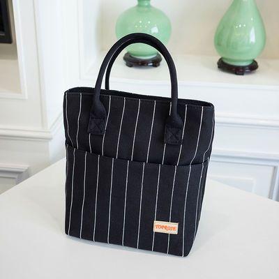 包包妈咪帆布文件简约杨树林包包提包饭盒饭盒袋大容手提包文件袋