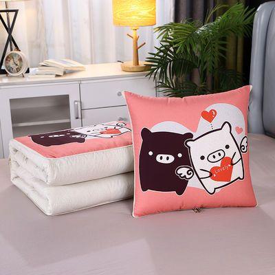抱枕被子两用午睡夏凉多功能被汽车靠垫靠枕枕头被抱枕被空调被