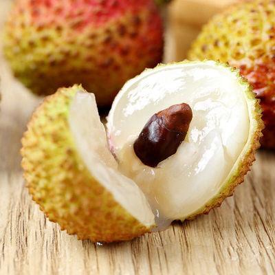 荔枝新鲜现摘海南妃子笑水果白糖罂桂味糯米糍荔枝1/3/5斤顺丰