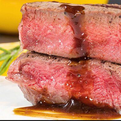 澳洲整肉原切牛排套餐黑椒10片家庭西冷牛肉新鲜儿童菲力20