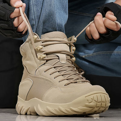 正品军鞋男军靴作战靴秋冬季超轻特种兵作训战术靴防水耐磨登山鞋