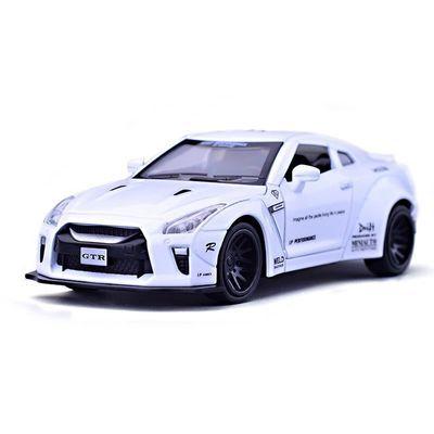 儿童男孩玩具车兰博基尼LP770仿真合金汽车模型1:32声光回力小车