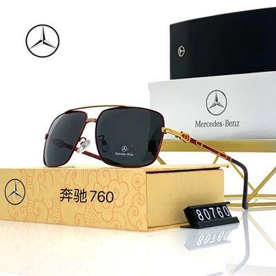 【奔驰4S店同款】新款高档金属偏光男士太阳镜户外驾驶墨镜760