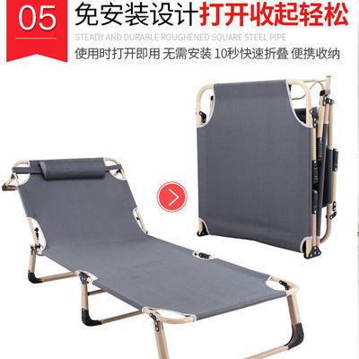 办公室折叠床单人床家用午休床午睡双人床成人简易行军硬板三折床