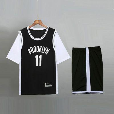 定制短袖欧文11号篮球服球衣男女情侣班服运动套装比赛运动会毕业