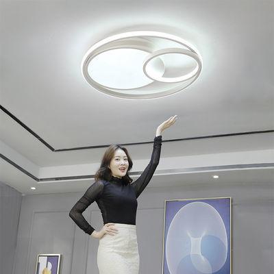北欧主卧室灯温馨浪漫房间灯具个性创意现代简约客厅灯吸顶灯圆形