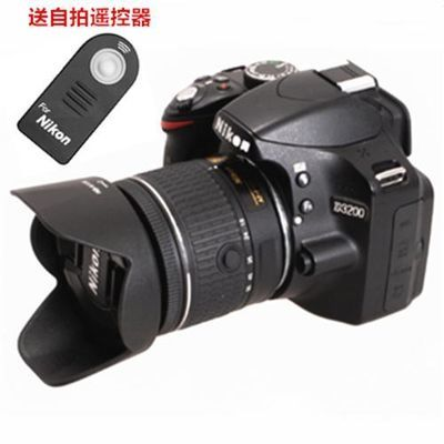 尼康/佳能D3400D5300D5500D5600相机AF-P18-55MM镜头遮光罩配件