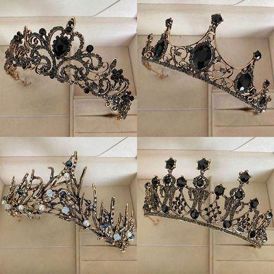 巴洛克复古网红同款新娘配饰十八岁女神成年礼生日皇冠头饰大王冠