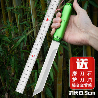 户外战术高硬度军刀直刀荒野求生刀防身武器随身刀具野营小刀收藏