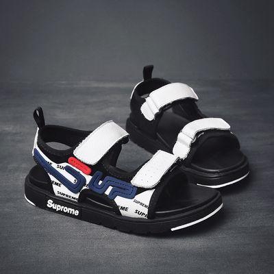 男童真皮凉鞋夏季小孩鞋子3-5-7-9-12岁小学生儿童鞋小男孩沙滩鞋