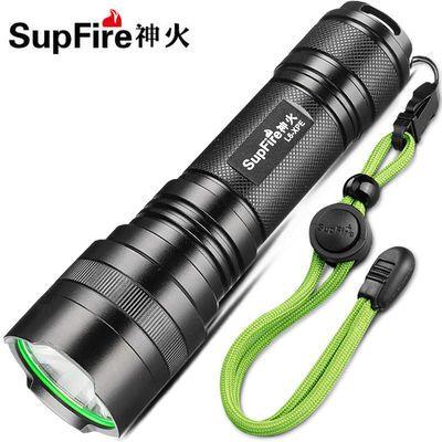 热销正品SupFire神火L6强光手电筒26650可充电LED户外骑行远射灯