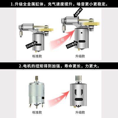 [四合一]车载吸尘器120W家用大功率家车干湿两用汽车用充气打气泵