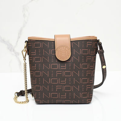 Fion菲安妮女包水桶包2020新款单肩斜挎包品牌包网红包