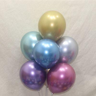 5寸10寸12寸金属气球 婚庆婚房装饰高亮度不透明网红加厚圆形气球