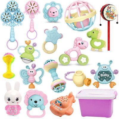 婴儿玩具3-6-12个月新生儿手抓摇铃 0-1岁早教益智幼儿宝宝男女孩